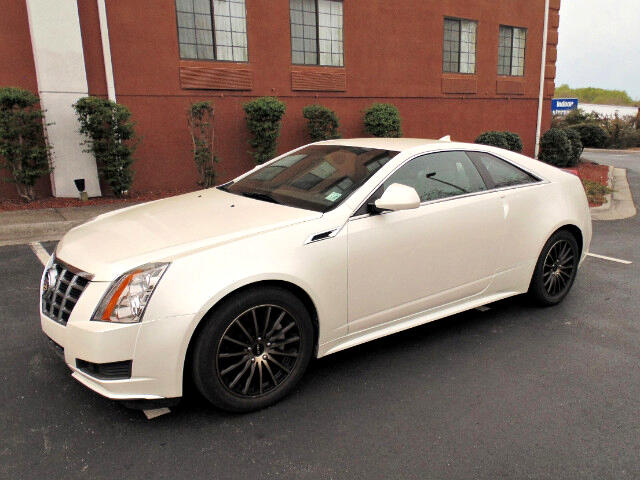 2012 Cadillac CTS Base Coupe