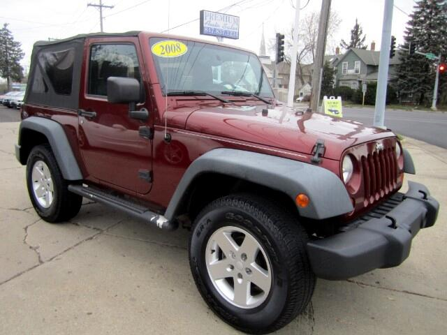 2008 Jeep Wrangler 4WD X LOW MILES CLEAN CARFAX