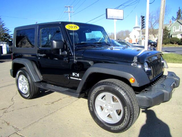 2009 Jeep Wrangler HARD TOP X 4WD LOW MILES
