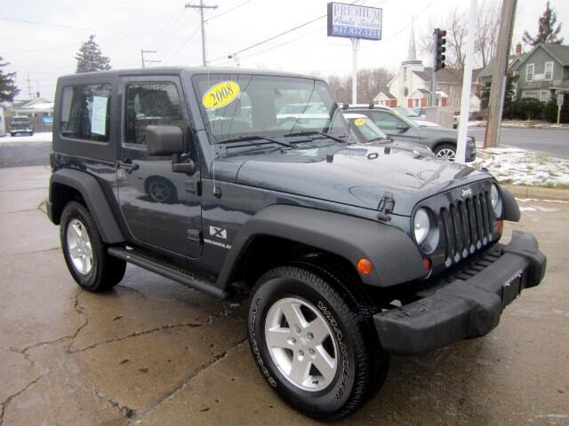 2008 Jeep Wrangler 4wd X HARD TOP