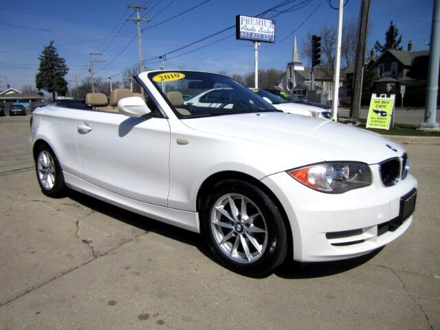 2010 BMW 1-Series 128i Convertible