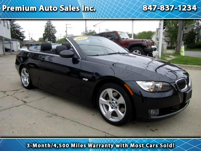 2009 BMW 3-Series 328I CONVERTIBLE LOW MILES LOCAL TRADE.