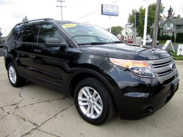 2015 Ford Explorer 4WD WITH THIRD ROW SEATS