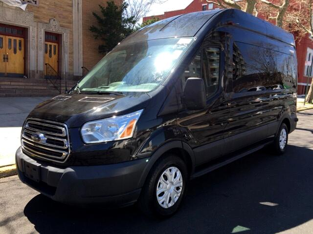 used 2015 ford transit 350 wagon high roof xl w sliding. Black Bedroom Furniture Sets. Home Design Ideas