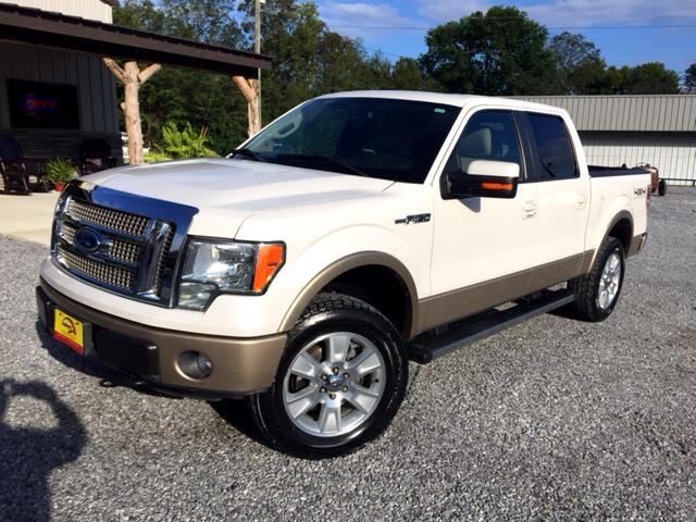 2012 Ford F-150 Lariat SuperCrew Short Box 4WD