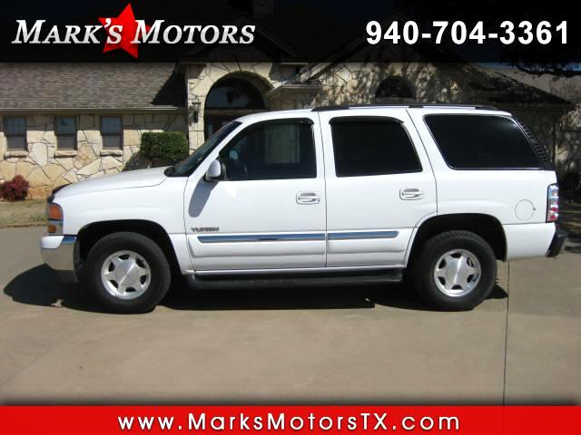 2003 GMC Yukon 2WD