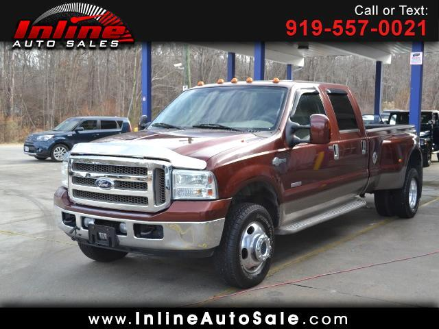 2007 Ford F-350 SD King Ranch Crew Cab 4WD DRW