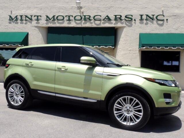 2013 Land Rover Range Rover Evoque Prestige Premium 5-Door