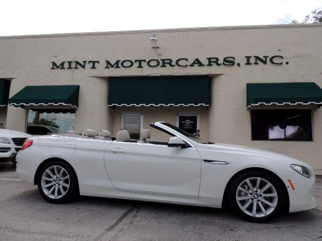 2012 BMW 6-Series 640i Convertible
