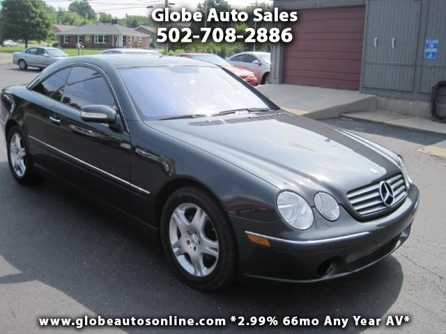 Used 2004 mercedes benz cl class cl500 for sale in for Mercedes benz dealership louisville ky