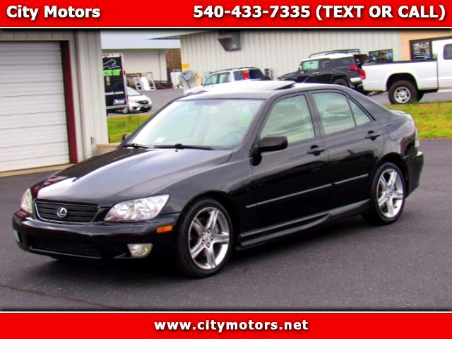 2002 Lexus IS 300 E-Shift Sedan