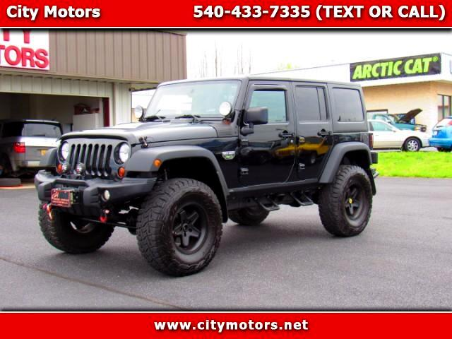 2012 Jeep Wrangler Unlimited Rubicon COD MW3 Edt.