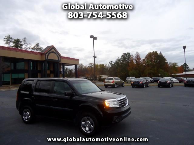 2012 Honda Pilot LX 2WD 5-Spd AT