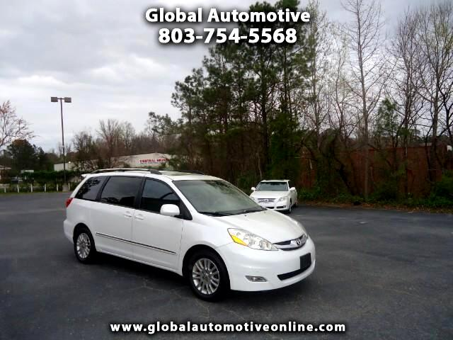 2008 Toyota Sienna LIMITED LEATHER SUNROOF NAVIGATION BACK UP CAMERA POWER TAILGATE POWER THIRD ROW