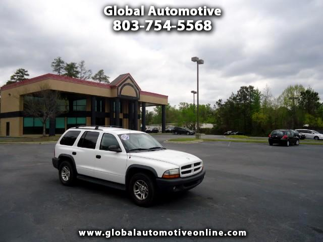 2003 Dodge Durango ONE OWNER SXT THIRD ROW SEAT Please call us at 866-524-3954 to arrange a test dr