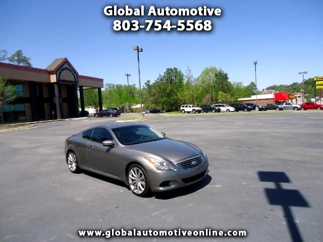 2008 Infiniti G37 6 SPEED MANUAL COUPE LEATHER SUNROOF NAVIGATION BACK UP CAM HEATED SEATS Please c