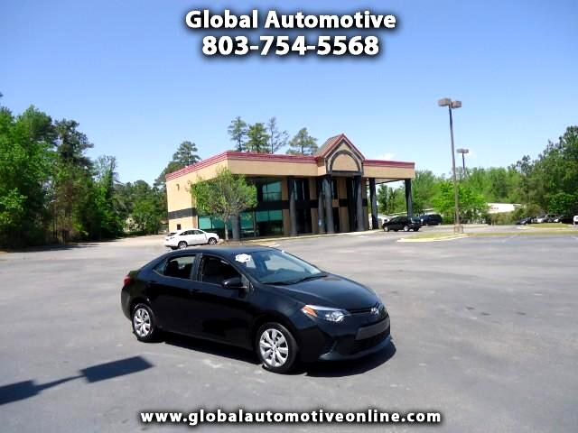 2015 Toyota Corolla ONE OWNER BACK UP CAM AUTOMATIC Please call us at 866-524-3954 to arrange a tes