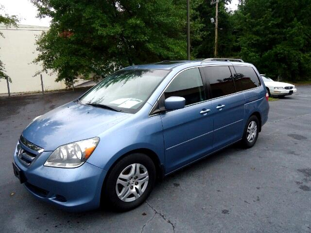 2007 Honda Odyssey LEATHER SUNROOF POWER SLIDING DOORS TVDVD SYSTEM  Please call us at