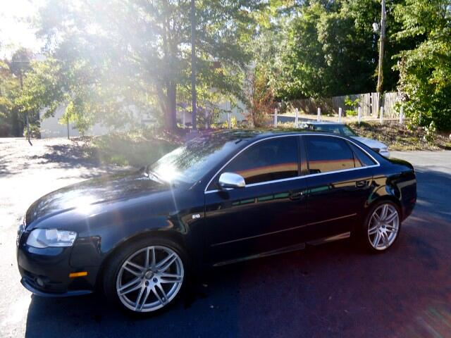 2007 Audi S4 NEW TIRES UPGRADED SOUND SYSTEM 6 SPEED MANUAL TRANS LEATHER SUNROOF  Please ca