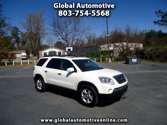 2009 GMC Acadia LEATHER SUNROOF TVDVD POWER LIFT GATE BACK UP CAMERA THIRD ROW SEAT  Pleas