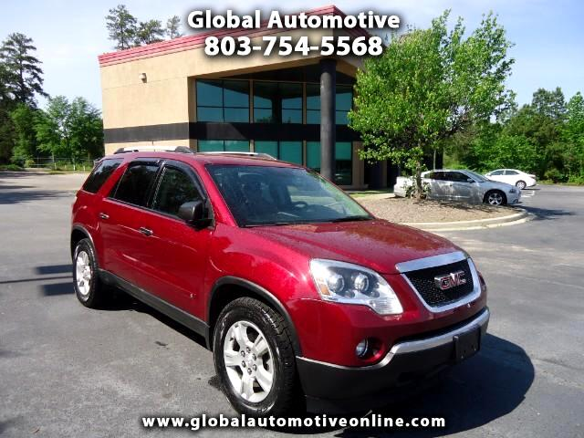 2010 GMC Acadia LEATHER BACK UP CAMERATHIRD ROW SEAT NEW TIRES  Please call us at 803-754-