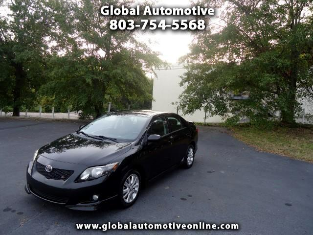 2010 Toyota Corolla AUTOMATIC SPORT PACKAGE NEW GOODYEAR TIRES KEYLESS ENTRY ALL POWER OPTIONS REAR