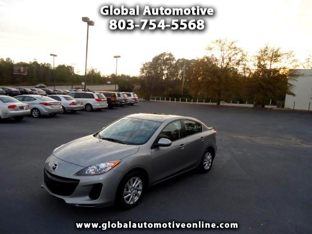 2012 Mazda MAZDA3 GRAND TOURING LEATHER SUNROOF NAVIGATION HEATED SEATS AUTOMATIC ALLOY WHEELS EXTR