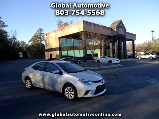 2014 Toyota Corolla ONE OWNER BACK UP CAMERA NEW TIRES POWER WINDOWS AND DOORSCRUISE Please call us