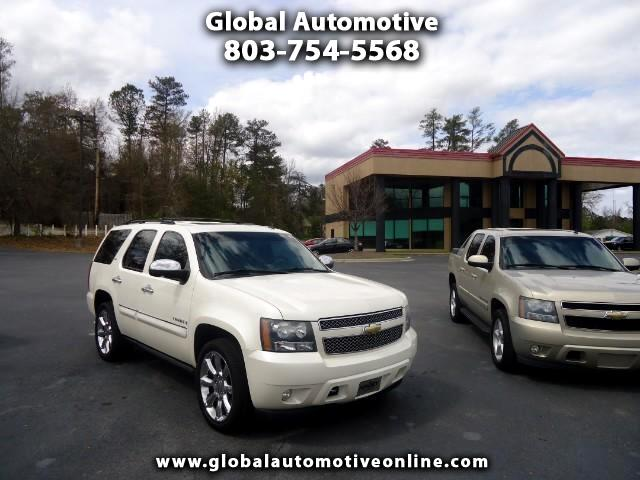 2008 Chevrolet Tahoe LTZ LEATHER SUNROOF TVDVD POWER RUNNING BOARDS CAPTAIN CHAIRS REAR TOW LOADED