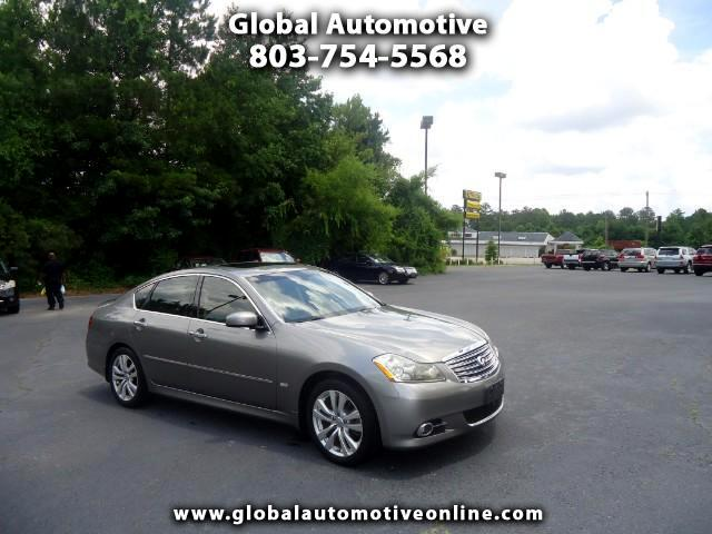 2008 Infiniti M NAVIGATION BACK UP CAMERABOSE STEREO -LEATHER SUNROOF AC AND HEATED SEATS LOADED