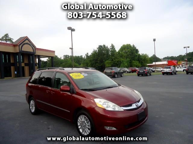 2008 Toyota Sienna ONE OWNER LEATHER SUNROOF TVDVD NAVIGATION BACK UP CAMERA LOADED  Please ca