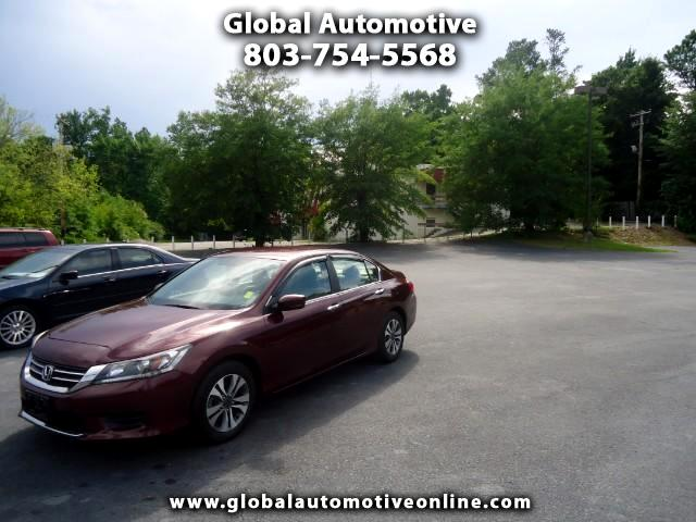 2013 Honda Accord BACK UP CAMERA ALLOY WHEELS Please call us at 803-754-5568 to arrange a test driv