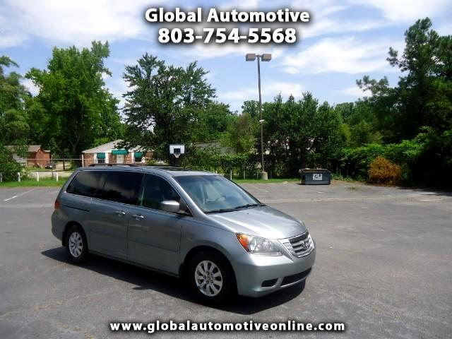 2008 Honda Odyssey ONE OWNER LEATHER SUNROOF TVDVD BACK UP CAMERA THIRD ROW SEAT TOW PCKG POWER SL