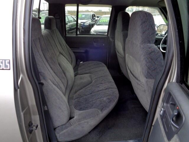 2002 GMC Sonoma SLS Crew Cab 4WD