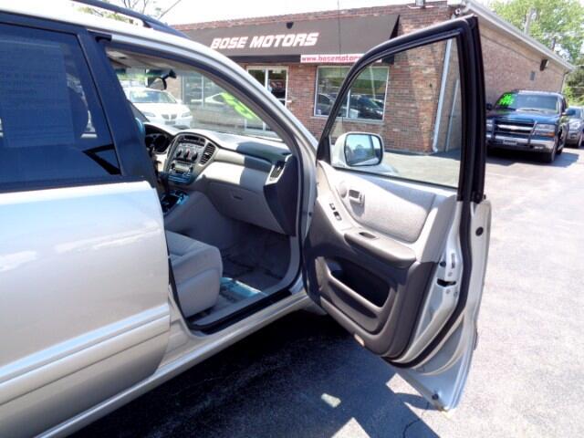 2003 Toyota Highlander V6 4WD