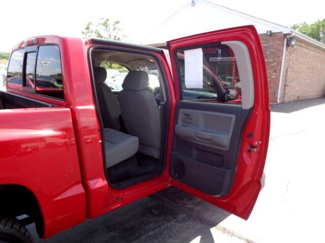 2008 Dodge Dakota SXT Crew Cab 4WD