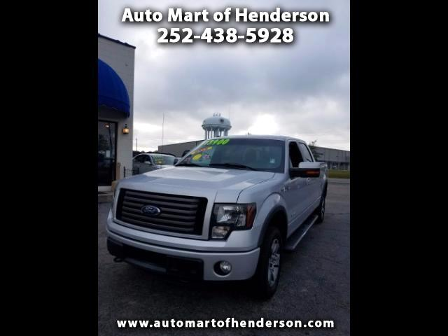 "2011 Ford F-150 4WD SuperCrew 150"" FX4"
