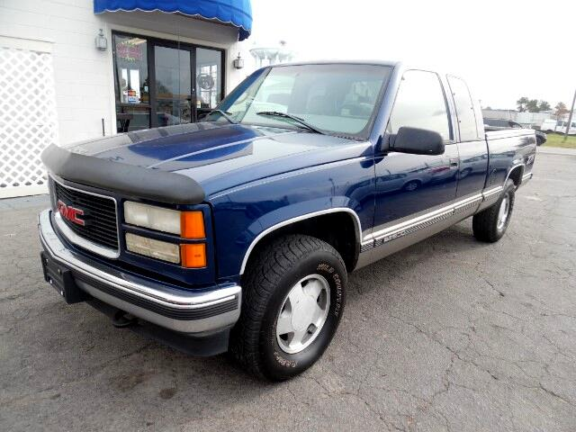 used 1998 gmc sierra c k 1500 ext cab sportside 4wd for. Black Bedroom Furniture Sets. Home Design Ideas