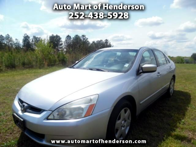 2005 Honda Accord LX V-6 Sedan AT