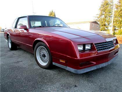 1987 Chevrolet Monte Carlo Base