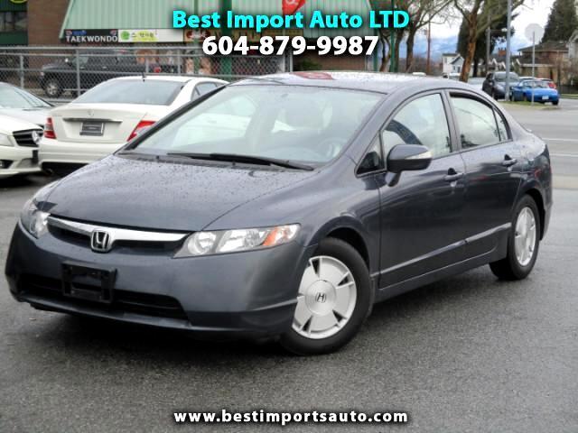2007 Honda Civic Hybrid CVT AT-PZEV