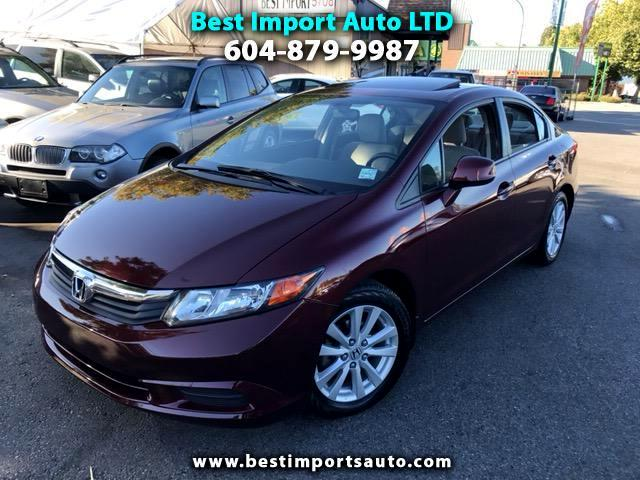 2012 Honda Civic LX Sedan 5-Speed AT