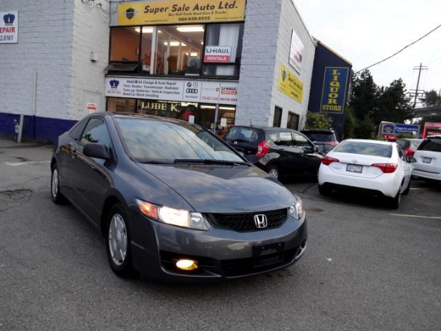2010 Honda Civic DX Coupe 5-Speed MT