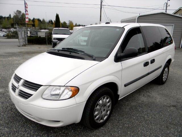 2007 Dodge Grand Caravan Cargo Van