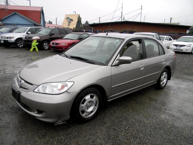 used 2004 honda civic hybrid for sale in seattle wa 98028 best auto recovery. Black Bedroom Furniture Sets. Home Design Ideas