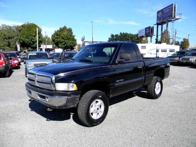 2000 Dodge Ram 1500 Reg. Cab Short Bed 4WD