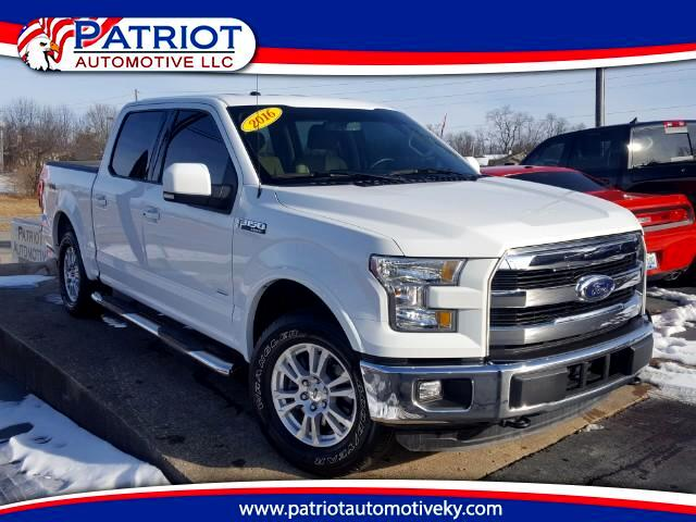 2016 Ford F-150 Lariat SuperCrew 5.5 Ft. Bed 4WD FX4 Off-Road Pack