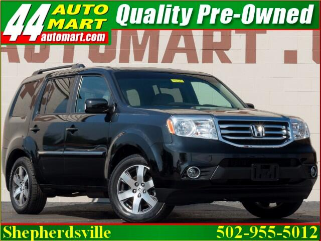2012 Honda Pilot Touring 4WD AUTO with DVD