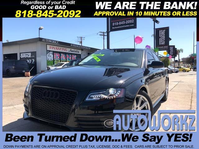 2012 Audi A4 Avant 2.0T quattro Tiptronic