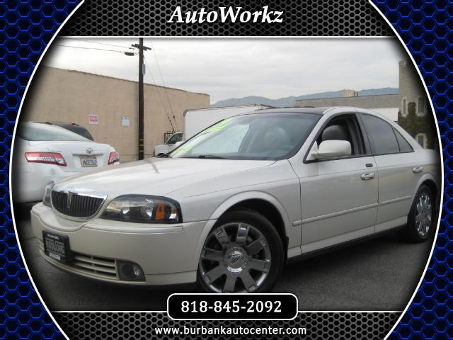 2004 Lincoln LS WOW CHECK THIS ONE OUT LEATHER AND FACTORY NAVIGATION TOP OF THE LINE Join our Famil